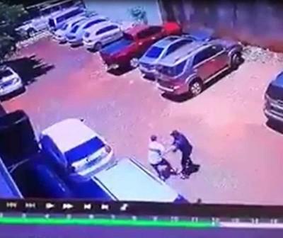 Guardia de seguridad sorprendió a tortoleros