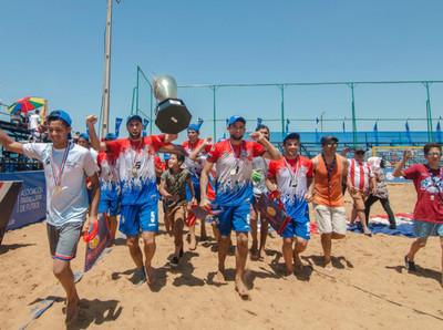 San Bernardino es el gran campeón de la Superliga de Playa