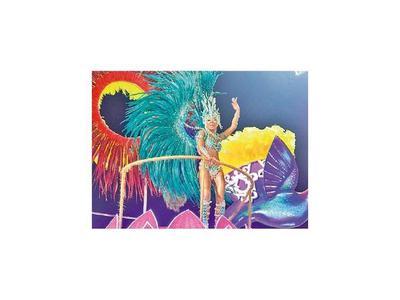 Encarnación brilló con la tercera ronda del Carnaval