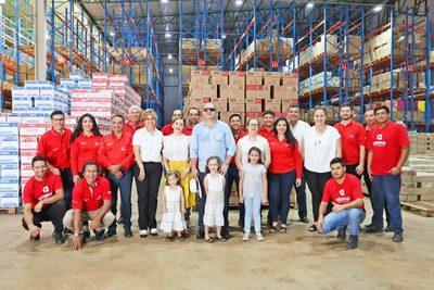 Alamo habilitó nuevo  centro de distribución