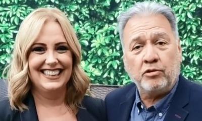 La foto de Menchi y Óscar que enterneció las redes sociales