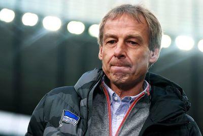Klinsmann dejó el Hertha Berlín