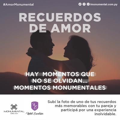 #AmorMonumental: Una foto memorable por una noche fantástica · Radio Monumental 1080 AM