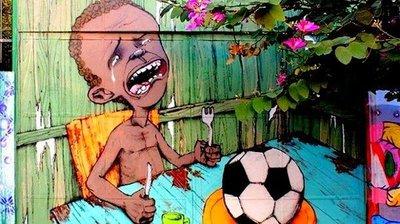 La primera imagen viral del Mundial Brasil 2014 (FOTO)
