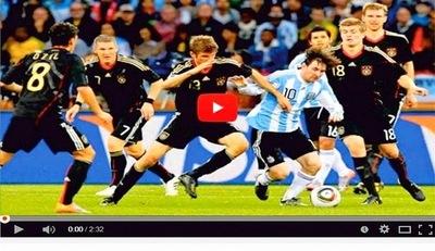 Este vídeo muestra porque Messi es el mejor futbolista del mundo
