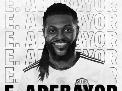 El mundo habla de Olimpia tras el fichaje bomba de Emmanuel Adebayor