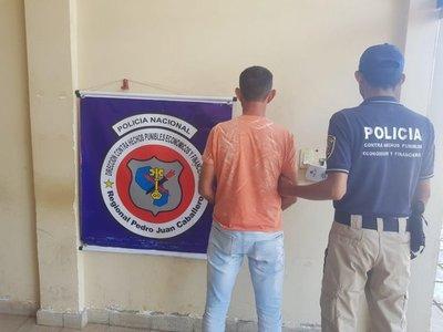 Capturan a un hombre buscado por abigeato en Pedro Juan Caballero