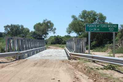 Habilitan puente en el Chaco que reduciría distancia hasta la capital