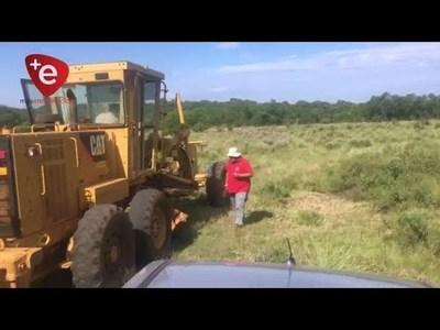 ACELERAN TRABAJOS DE MANTENIMIENTO Y REPARACIÓN DE CAMINOS PARA EL RALLY TRANS ITAPÚA