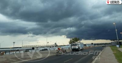 Emiten alerta por tormentas eléctricas para siete departamentos