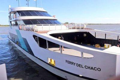 Ferry del Chaco se despide temporalmente