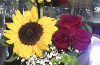 Las flores son un infaltable en el Día de los Enamorados