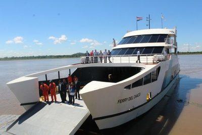 Este sábado concluye el primer ciclo del Ferry del Chaco