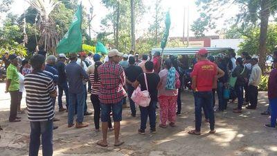 Horqueta: Campesinos analizan resultados de movilizaciones