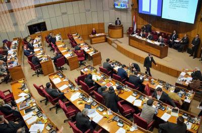 Senado trata Ley de Financiamiento político en medio de manifestación ciudadana