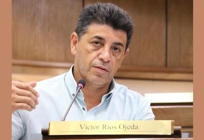 """Víctor Ríos pincha el globo a los """"pro transparencia"""": """"Gua'u que el que recibe un cheque de Pavão va a rendir cuentas sobre ese dinero"""""""