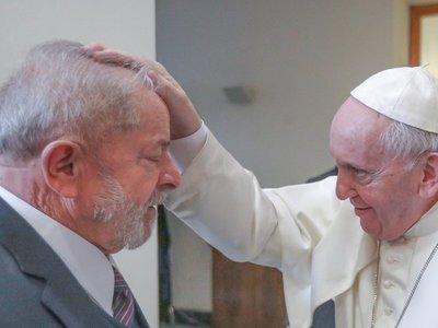 Papa Francisco recibió a Lula en el Vaticano