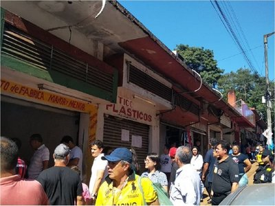 Comuna recupera galería en centro de Ciudad del Este