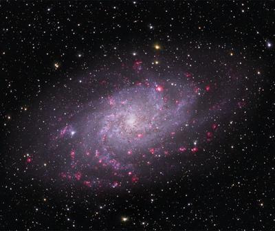 Detectan una señal de radio de otra galaxia