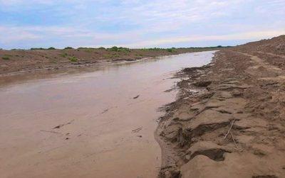 Reportan ingreso ininterrumpido de aguas del río Pilcomayo.