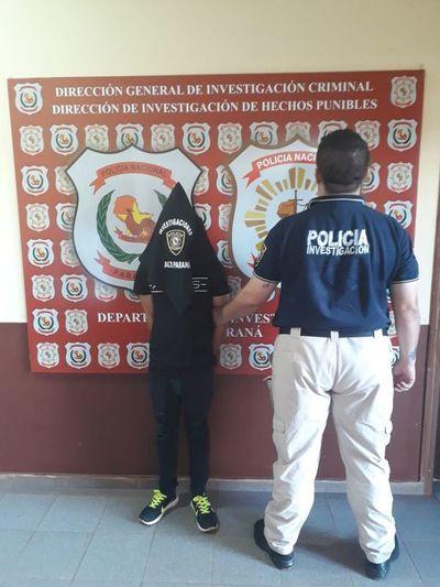 Capturan a argentino buscado en su país por contrabando
