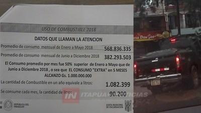 SUSPENDEN AUDIENCIA PRELIMINAR DE LA CAUSA DE HURTO DE COMBUSTIBLE