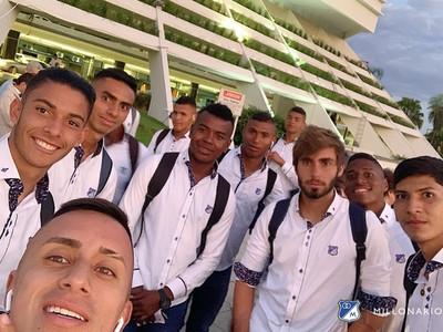 Frederico Nantes hablando de la Libertadores Sub-20