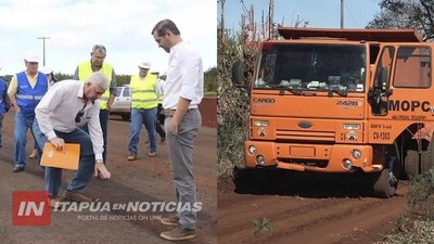 INTENDENTE DE TRP DESTACA INVERSIONES DEL MOPC EN SU MUNICIPIO