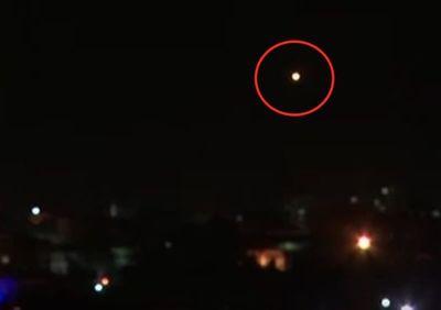 Defensa antiaérea siria intercepta misiles sobre Damasco