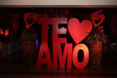 Los enamorados festejan el Día de San Valentín