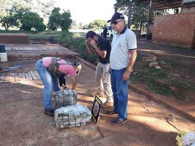Confiscan marihuana en Canindeyú