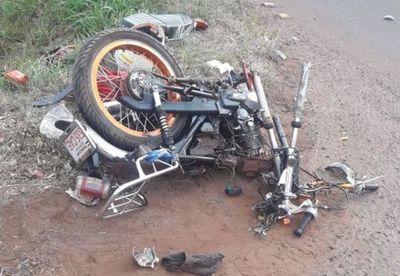 Motociclista muere sobre la supercarretera