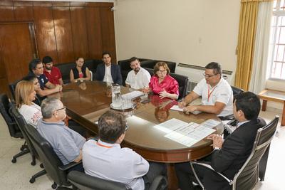 Avanza coordinación de trabajos para mensura judicial del Cerro Chovoreca