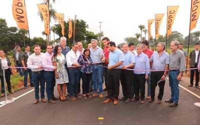 Pobladores de Central cuentan con nuevos tramos asfaltados