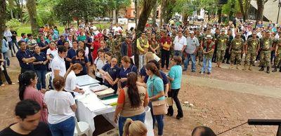 Minga ambiental en San Juan Bautista, Misiones