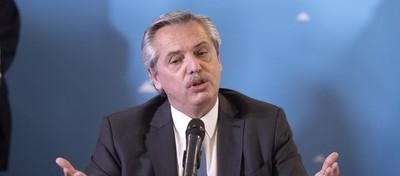 Alberto Fernández advierte que Argentina no puede cumplir con su deuda