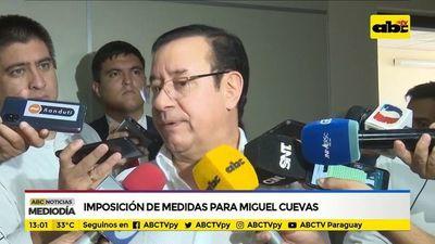 Se sigue aguardando definición sobre prisión de Miguel Cuevas
