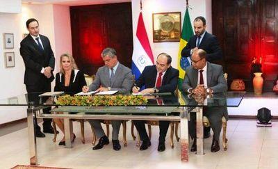 Paraguay y Brasil estamparon acuerdo automotriz
