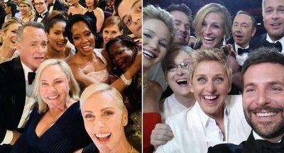 La nueva gran selfie de Hollywood es de Charlize Theron