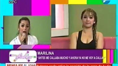 "Larissa y Marilina se enfrentaron ""Yo quiero ser famosa sin mostrar las tetas"""