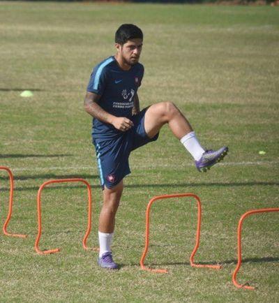 Mathías Villasanti y el ofensivo Sergio Díaz se recuperan