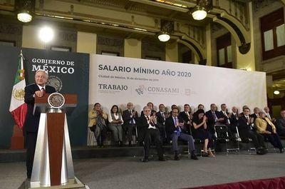 El Gobierno de México sube por segunda vez en menos de un año el salario mínimo