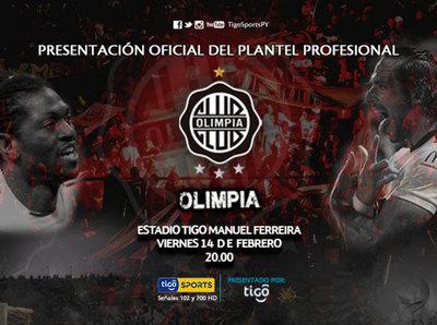 Olimpia convoca a una noche especial en Para Uno
