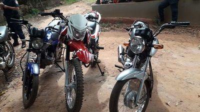 Motocicleta con GPS permite descubrir un aguantadero