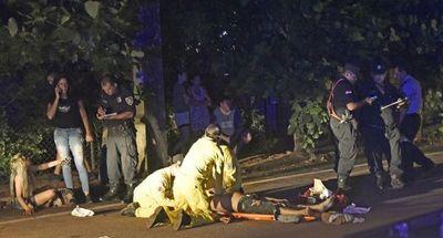 Asesinato en Ñemby: encuentran auto desde donde se hicieron disparos