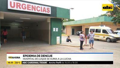 Hospital de Luque se suma a la lucha contra el dengue