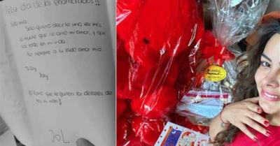 ¡Fabbro envió un regalo desde la cárcel!