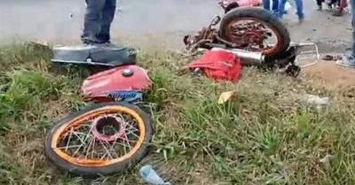 Motociclistas omano en accidentes ruteros