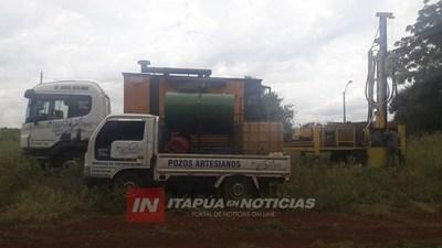 INICIÓ EXCAVACIÓN DE POZO EN COMUNIDAD INDÍGENA DE PIRAPÓ
