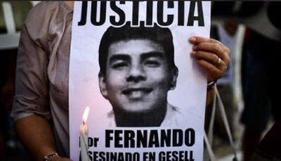 Juez confirma prisión a rugbiers por el homicidio de Fernando Báez